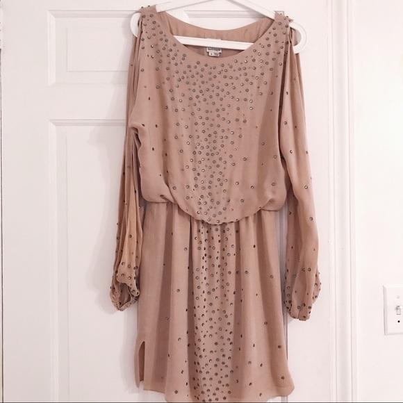 Haute Hippie Dresses & Skirts - Haute Hippie Nude Dress